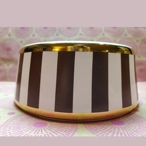 "Henri Bendel Ceramic Dog/Cat 5"" Diam. Small Bowl"